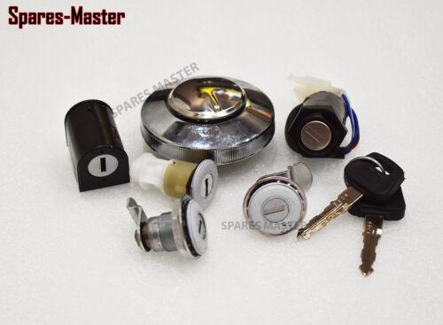 Royal Enfield Set Of Ignition Switch,Fuel Tank Cap,Steering,Tool Box Lock Kit-SM
