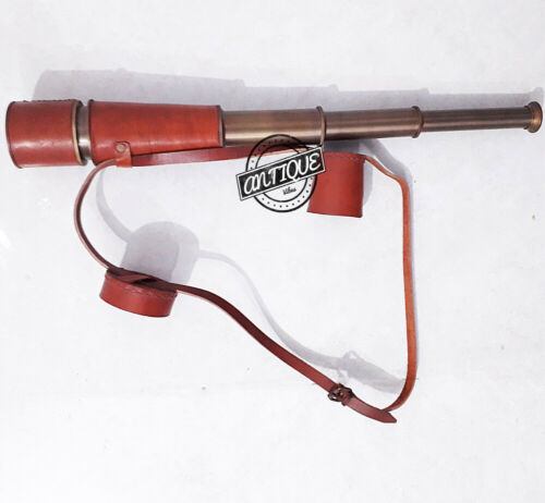 "Vintage Telescope Scope Monocular Jack Sparrow Spyglass Gifts Men//Sailor//Boy 18/"""
