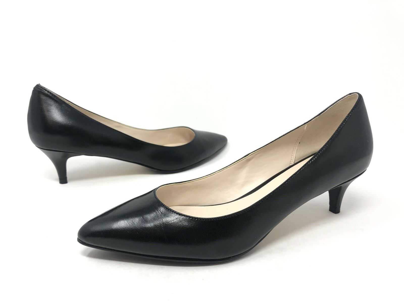 030 Cole Haan Women's Juliana 45mm 45mm 45mm Dress Pumps, Black, Size 7.5 M 1de20f