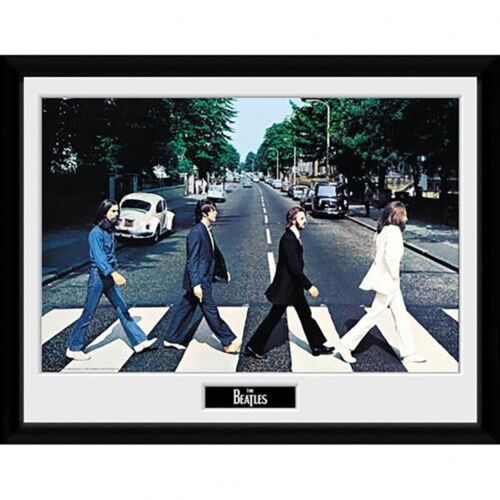 """ABBEY ROAD The Beatles 16/"""" x 12/"""" Framed Picture"""
