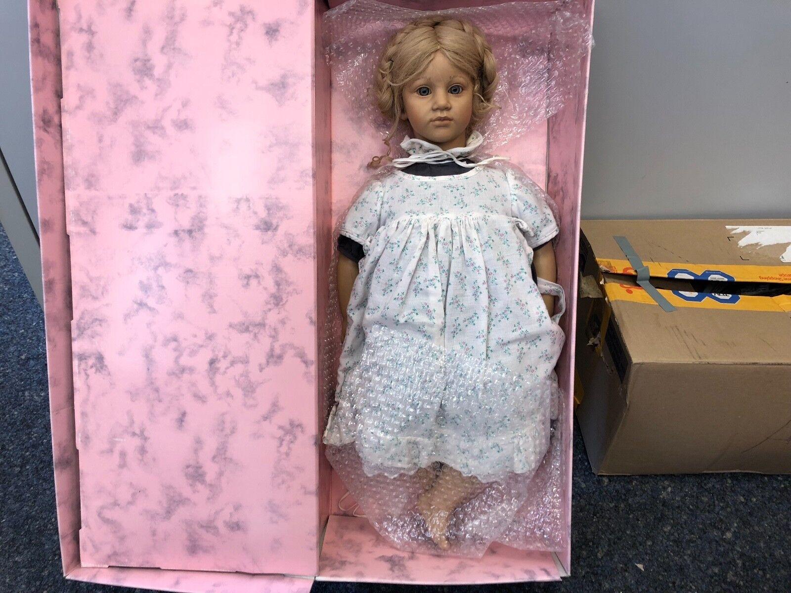 Annette Himstedt ⭐ ⭐ muñeca Ellen 65 cm. ⭐ ⭐ impecable