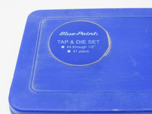 Case #GA541 Details about  /41pc Tap and Die Set