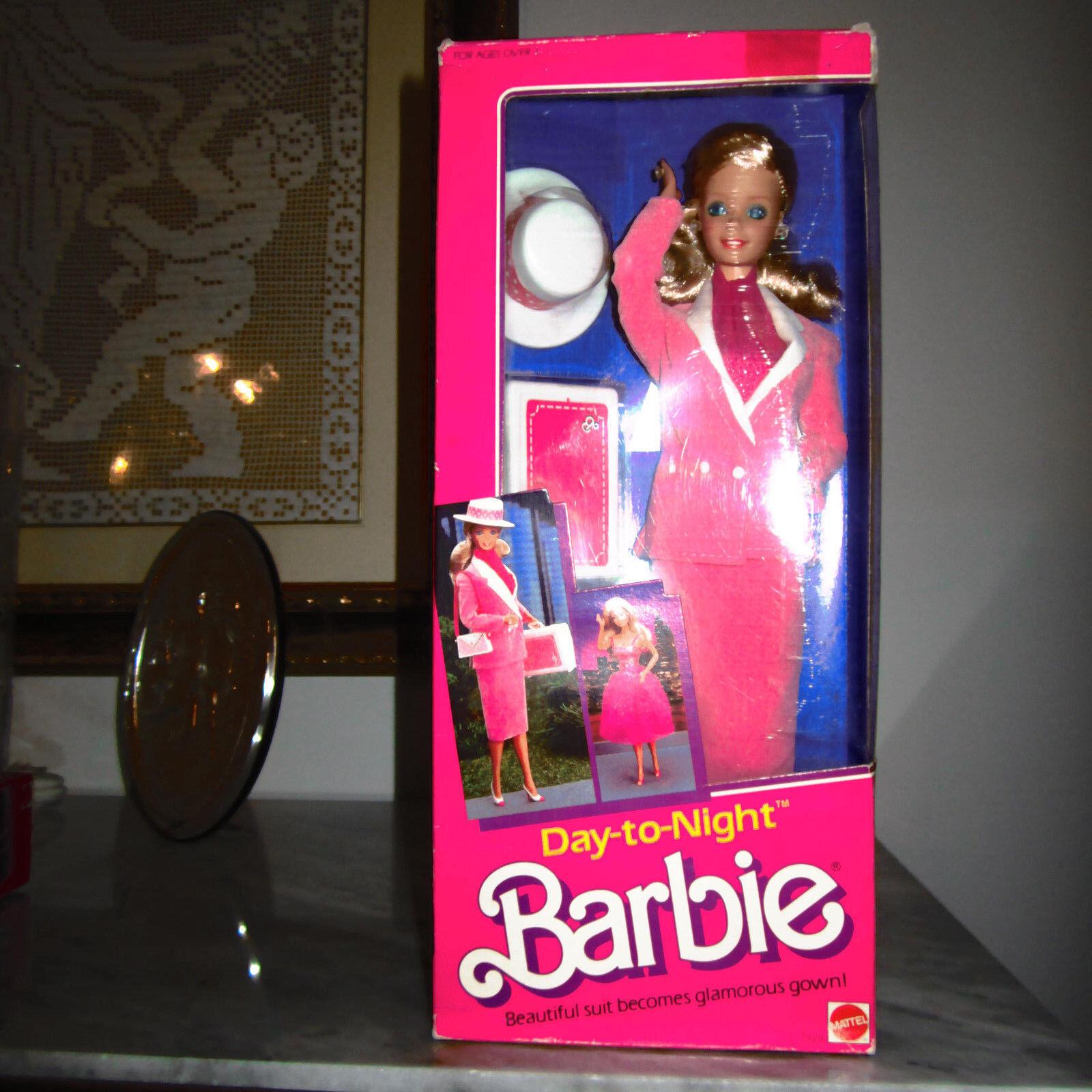 1984 Day To Night Barbie Giorno e Sera notte hawaiian superstar picture pretty