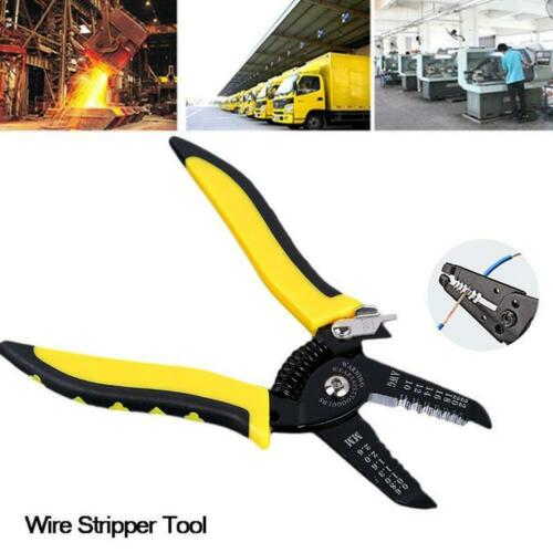 Multifunction 7In1 Handle Tool Cable Wire Stripper Stripping Cutting Pliers SALE