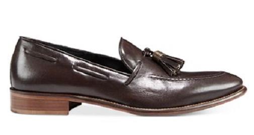 Zapatos de cuero nuevo En Caja Kenneth Kenneth Caja Cole New York Para hombre emoción-Iant Resbalón en con Borlas Espresso 25d37b