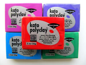 Sculpting-clay-2-oz-Kato-oven-bake-polymer-clay-Choose-your-color-Free-shipping