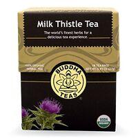 Milk Thistle Tea - Organic Herbs - 18 Bleach Free Tea Bags, New, Free Shipping