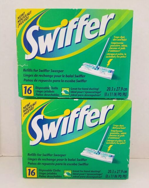 Procter Gamble 16 Count Swiffer Disposable Dry Cloth Refills 31821 Fragrance