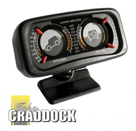 LAND ROVER LAND METER / INCLINOMETER (PITCH & ROLL) FOR OFF ROAD 4x4 VEHICLES