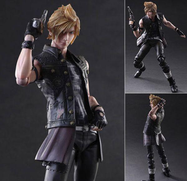 Square Enix Play Arts Kai Final Fantasy XV Prompto Figura de Acción FS Japón