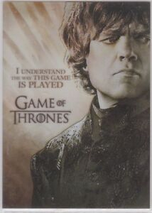 Game Of Thrones Season 2 Pl1 Gallery Insert Card Tyrion Lannister Ebay