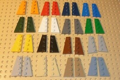 LEGO WEDGE PLATE 4 x 2 Left /& Right Choose Colour /& Qty 41769 /& 41770 C7