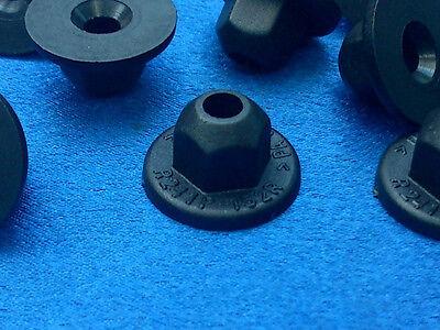 (2504) 10x Kunststoffmutter Clips Befestigung Klips Halter  Clip für Audi, VW, S