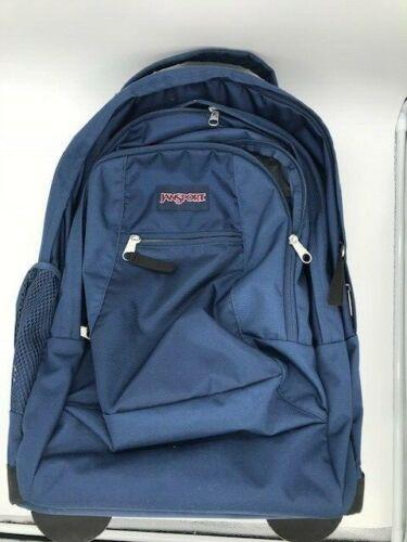 Jansport Driver 8 Wheeled Backpack, Navy