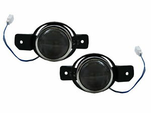 Clio II MK2 2001-2008 3D/4D/5D Projector Dual Beam Fog Light Black for RENAULT