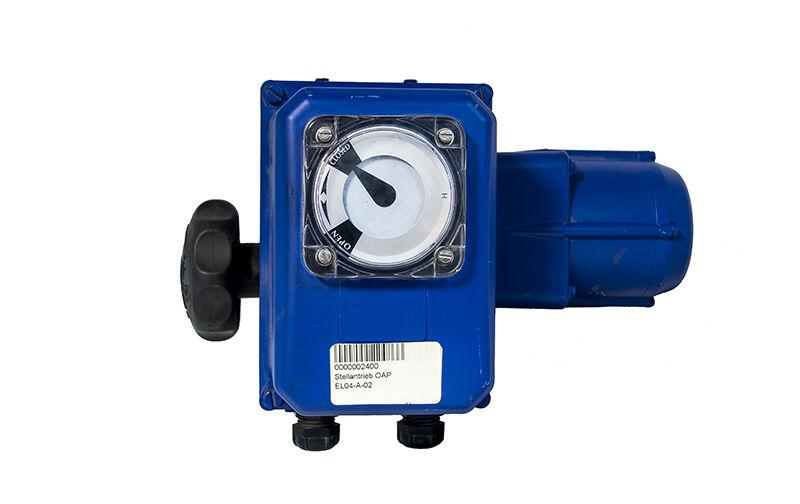 BERNARD 0AP Electrical actuator Schwenkantrieb