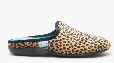 Lunar Ghana Cheetah Mule Slipper
