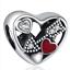 European 925 Silver CZ Charm Beads Pendant Fit sterling Bracelet Necklace Chain