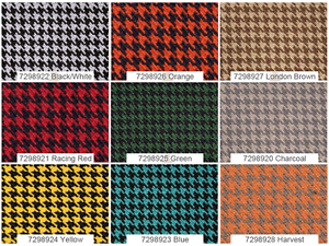 Houndstooth Automotive Retro Headliner General Upholstery Fabric 57 W Sold Bty Ebay