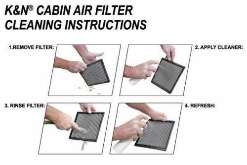 K/&N Replacement Cabin Air Filter for Acura TL //TSX //Honda Accord //Civic //Pilot
