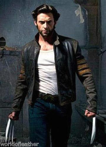 Logans Wolverine Xo X Biker men Style Jacket Bnwt Leather w1FWRgvqE