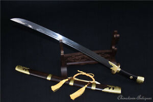 Qing Dy Armed Forces Command Officers Sword Broadsword