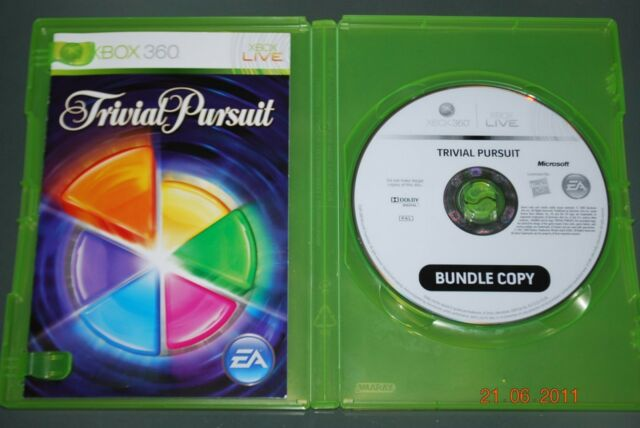 Trivial Pursuit Xbox 360 UK PAL (No Cover) **FREE UK POSTAGE**