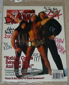 WWF-MAGAZINE-RAW-FEBRUARY-1998-WRESTLING-DX-COVER-SHAWN-MICHAELS-POSTER-WWE