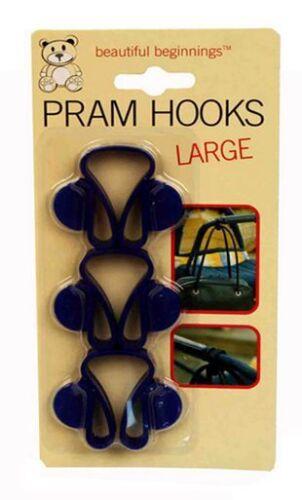 Pram Hooks Large Pack of 3