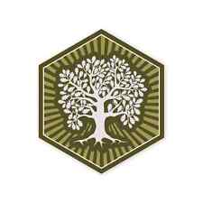 TAD Gear MOTUS PDW Tree Of Life Sticker Decal GIow in Dark Life Liberty Love