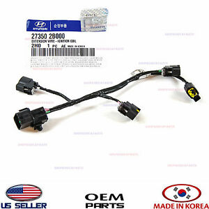 ignition coil wire harness genuine veloster kia soul. Black Bedroom Furniture Sets. Home Design Ideas