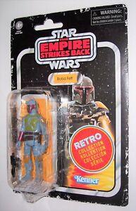 "Star Wars 3.75/"" Retro Collection Boba Fett Vintage Kenner Emballage Neuf Scellé"