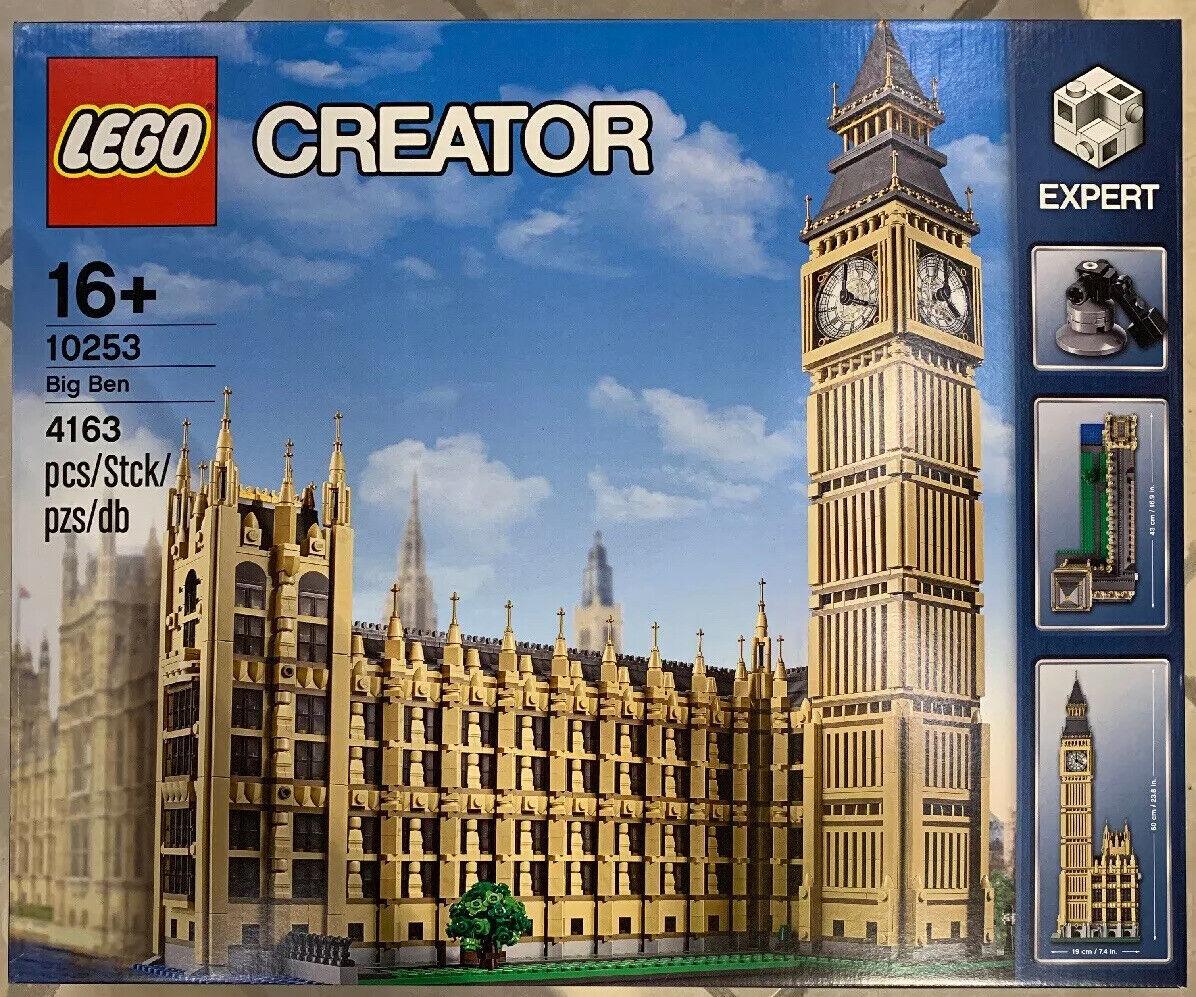 LEGO Creator Expert 10253 Big Ben - Neu & OVP
