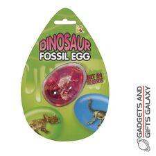 DINO FOSSIL SLIME EGG inc DINOSAUR pocket money toy gift childs kids novelty