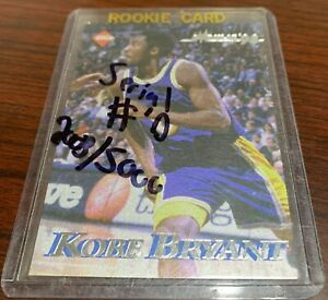 1998 KOBE BRYANT COLLECTOR'S EDGE IMPULSE CARD NUMBERED 2003/5000