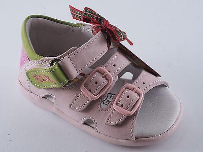 FELIX der Hase Schuhe Sandalen Mädchen 20 Nubuk Rosa Pink Kiwi NEU