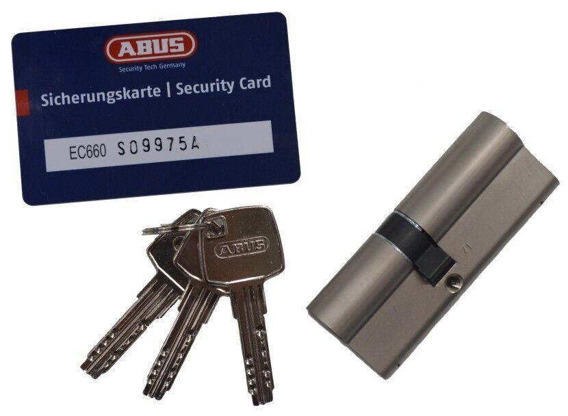 Schließzylinder ABUS EC660 SKG  3 Schlüssel mit Sicherungskarte  | Schön  | Am praktischsten  | Zürich  | Züchtungen Eingeführt Werden Eine Nach Der Anderen