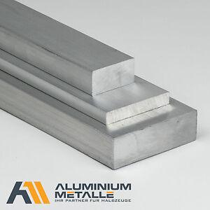 Aluminium-Flachstange-Laenge-waehlbar-Alu-Flachmaterial-AlCuMgPb-Flach-Vierkant