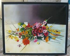Beau-tableau-034-bouquet-de-printemps-034-par-Max-LAIGNEAU-artiste-international