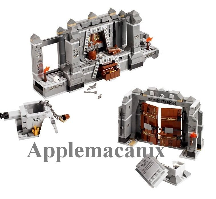 NEW LEGO Lord of the Rings LOTR 9473 The Mines of Moria Set - *NO MINIFIGURES*