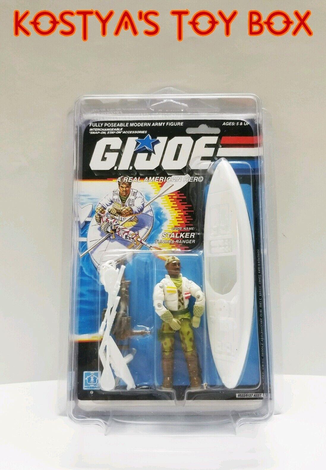 GI Joe STALKER 1989 MOC MOSC Hasbro Vintage Factory Sealed Action Figure
