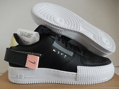 NIKE AF1-TYPE AIR FORCE 1 TYPE LOW BLACK-ANTHRACITE-ZINNIA SZ 10.5 [CI0054-001]   eBay