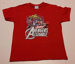 T-shirt-Originale-AVENGERS-Insieme-Marvel-Novita-2015-Bimbo-Ragazzo-SuperEroi
