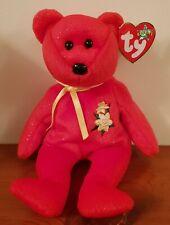 "MEXICO FLAG 14/"" RED MEXICAN TEDDY BEAR OSITO BUDDY soft TY beanie BUDDIES toy"