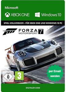 Forza Motorsport 7 Xbox One & Windows 10 PC Key - Download Code - DE/Global