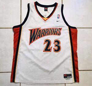 Details about Vintage NIKE Golden State Warriors Jason Richardson SEWN NBA Jersey Men's 2XL