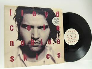 LLOYD-COLE-no-blue-skies-numbered-limited-edition-12-034-EX-EX-COLEP-11-vinyl