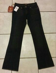 boot Manwind donna taglio medio Cut All Jeans For 7 Dojo 27 Nero Nwt con SIAq7