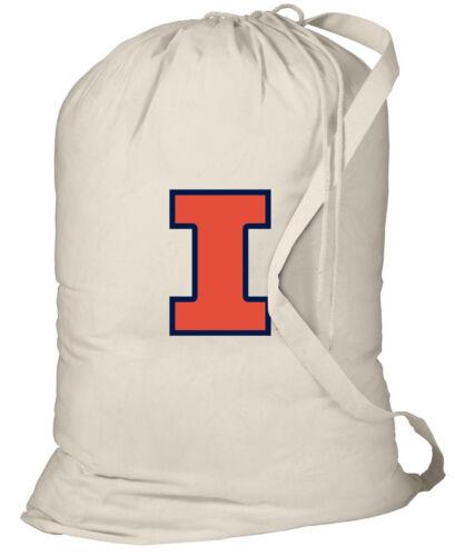 U of I Laundry Bag Illinois Illini Laundry Bag BEST GRADUATION GIFT