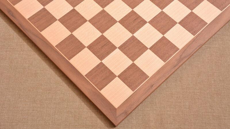 Wooden Standard Walnut Maple Chess Chess Chess Board Matte Finish 16  - 45 mm SKU  B1002 43c654